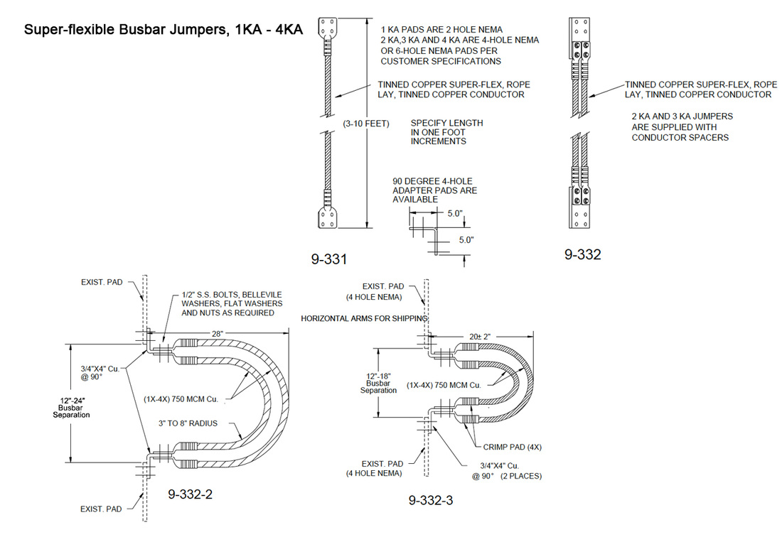Substation flexible jumpers inertiaworks for Substation design pdf